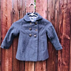 Old Navy grey coat for girls